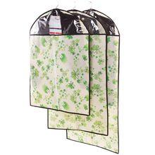 Маленький 1 шт. зеленый женский цветок пылезащитный чехол для костюма или Винни пылезащитный чехол