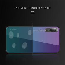 Luxury Glass Cover Phone Case For Huawei