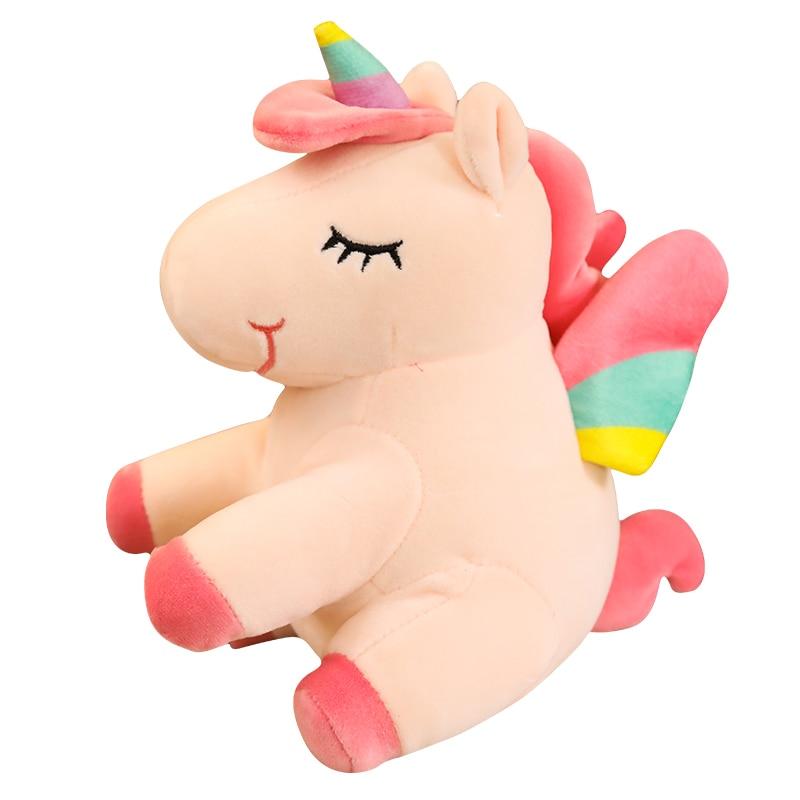 Plush-Toys Doll Direct-Angel-Unicorn Birthday-Gift Rainbow Pony Girls Fat Send A-Generation