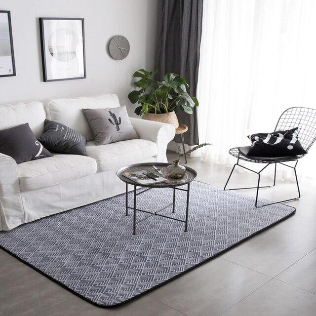 Nordic Einfache moderne mode wohnzimmer teppich schlafzimmer matte ...