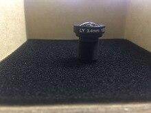 4 К объектив 3.4 мм Камера Плоские линзы 1/2. 3 «16MP M12 85 градусов лучше, чем 5.4mm для Yi 4 К and GoPro изменение вновь приходящие