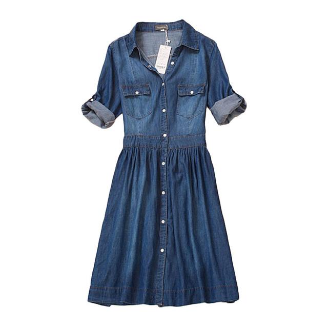 Casual Denim Dress