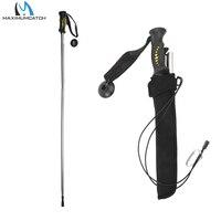 Maximumcatch Aluminum Alloy Alpenstock Pole Telescpoic Walking Stock Wading Staff Fishing Stick Fishing Accessory