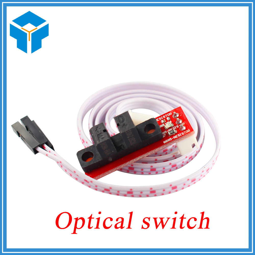 6set/lot.Smart Electronics for 3D Printers RAMPS 1.4 Optical Endstop Light Control Limit Optical Switch new opto optical endstop end stop switch cnc optical endstop using tcst2103 photo interrupter