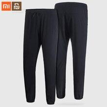Youpin Mijia Pantalones elásticos de secado rápido para hombre, de cuatro lados, con absorción de humedad, pantalones deportivos para correr