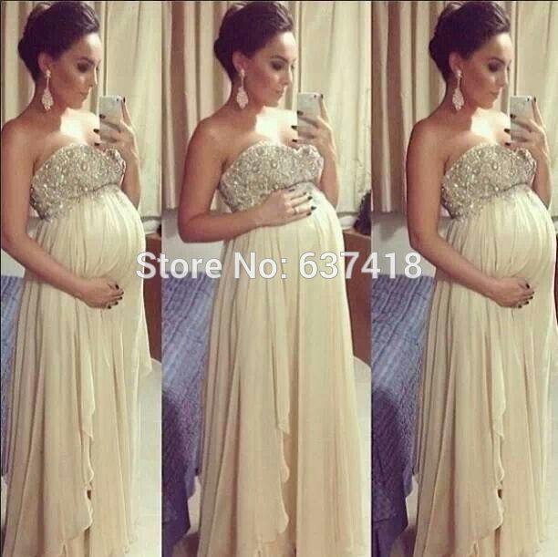 Robe de cocktail courte pour femme enceinte