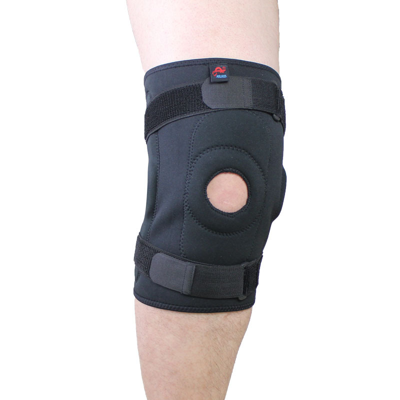 Health care Adjustable Hinged <font><b>Knee</b></font> Brace Patella Compression <font><b>Knee</b></font> Supports Kneepad Relief for basketball volleyball