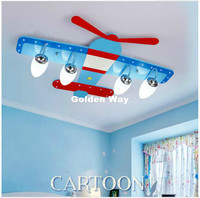 Modern Air Plane Decorative LED Ceiling Lights For Bedroom Children Kid's Room Home Decorative Surface Mounted Ceiling Lamp