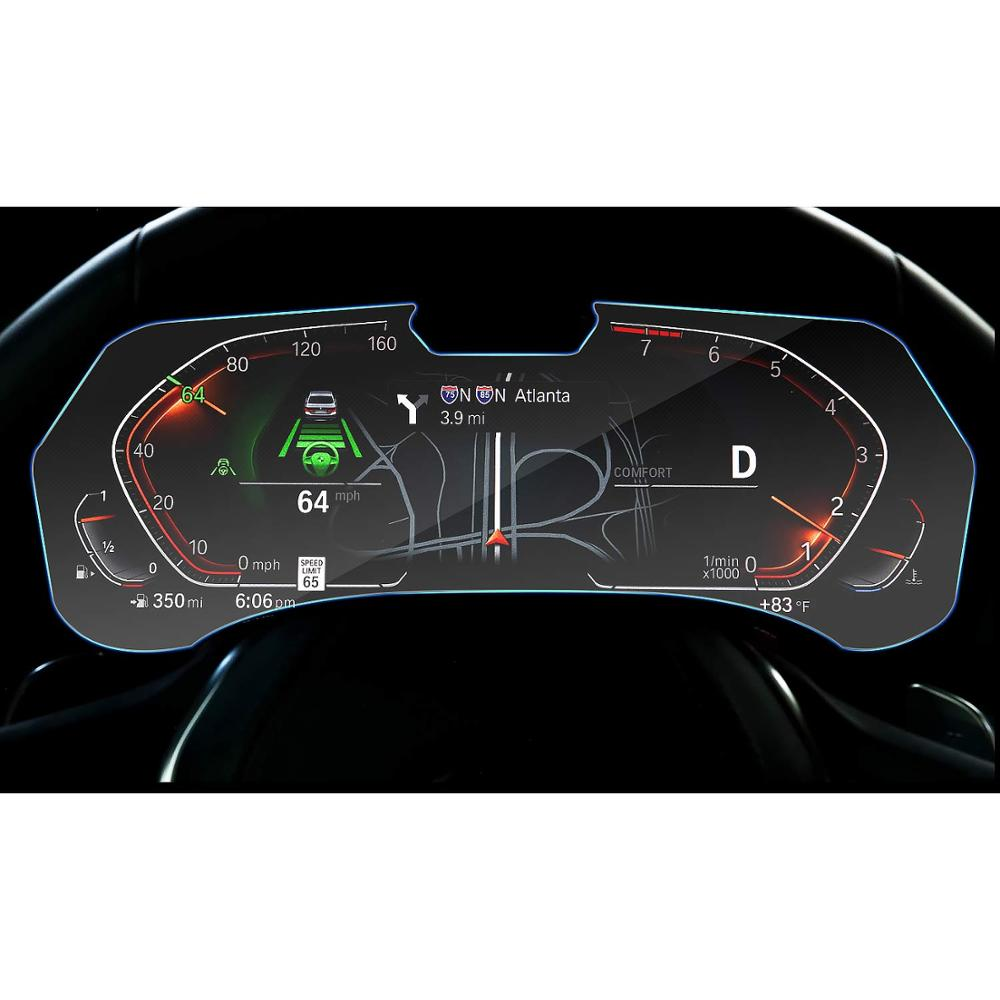 RUIYA Защита экрана для BMW X5 G05 ЖК дисплей экран приборной панели, 9 H Закаленное стекло протектор защита от ежедневных повреждений-in Защита экрана from Бытовая электроника on AliExpress - 11.11_Double 11_Singles' Day