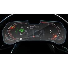 RUIYA screen protector voor BMW X5 G05 LCD instrument panel scherm, 9 H gehard glas protector bescherming tegen dagelijkse schade
