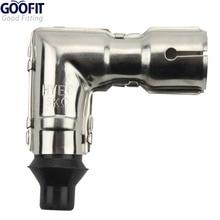GOOFIT Gy6 Dirt Pit Bike Metal Spark Plug Cap for 10mm Thread Plugs 50cc 150cc H053-025-1