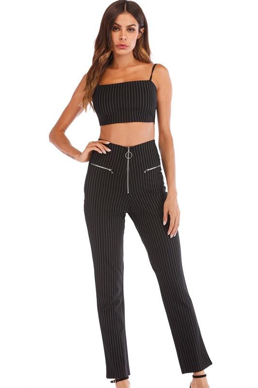 2018-explosion-models-women's-sling-vest-high-waist-pants-set-two-piece-suit