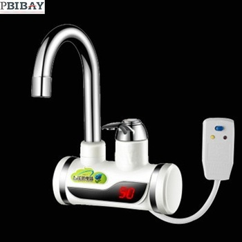 BDP3000W-6,Earth Leakage Protection plug,heater,Digital Display,Tankless Electric Faucet,Electric water tap, Water Heater