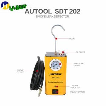 Original For Cars Leak Locator Automotive Diagnostic Leak Detector SDT202 AUTOOL SDT-202 Car Smoke Machines For Sale