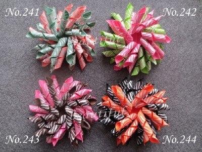 30 шт 3,5-A коркер ленты банты для волос с банты для волос на прищепке аксессуары для детей/женщин