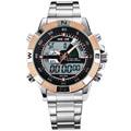 WEIDE Hombres de Los Relojes de Primeras Marcas de Lujo de Cuarzo de Los Hombres LED Digital reloj Reloj Hombre Militar Del Ejército Del Reloj del Deporte Del Relogio masculino 2016