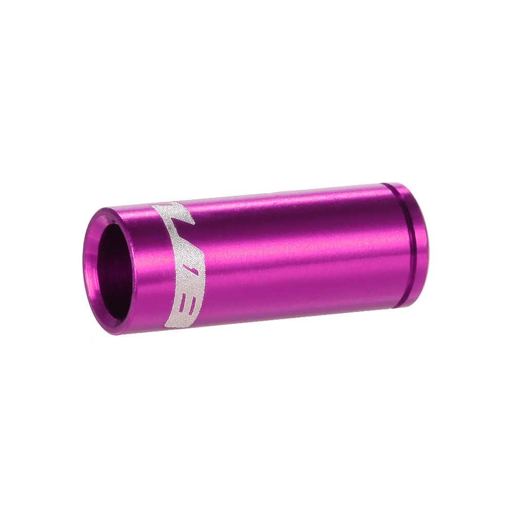 GUB 100 шт 4 мм/5 мм алюминиевый сплав велосипедный переключатель цельнокроеные наконечники рубашки тросика переключения кабеля Корпус наконечники Tupe Топы Замена Набор