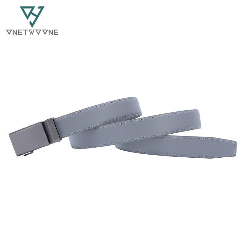 Famous Brand Belt Men Top Quality Genuine Luxury Leather Belts for Men Strap Male Metal Automatic Buckle 3 0cm Man Belt in Men 39 s Belts from Apparel Accessories