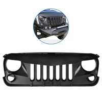 Shipping From US Car Front Hood Grill Grid Bumper Radiator Grille Mesh Sport For 2007