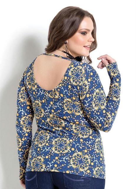 Plus Size Women Clothing Large Floral Printed Shirt Deep V Women Blouse Big Size Tops 5XL 6XL