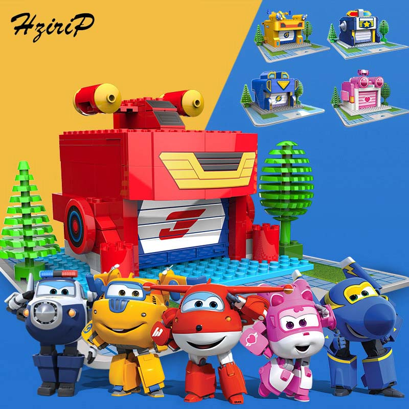 Hot Sale New Anime Super Wings Building Blocks Educational Toys Mini Granule Blocks Robot DIY Assembly Toys For Children Gifts 2016 hot sale free super performance 2015 professional mini dsg reader dq200 dq250 for new release dsg
