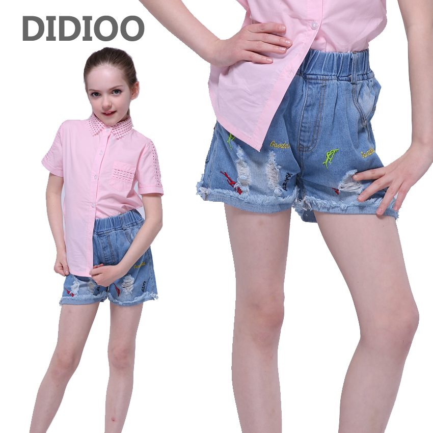 Popular Kids High Waisted Denim Shorts-Buy Cheap Kids High Waisted ...