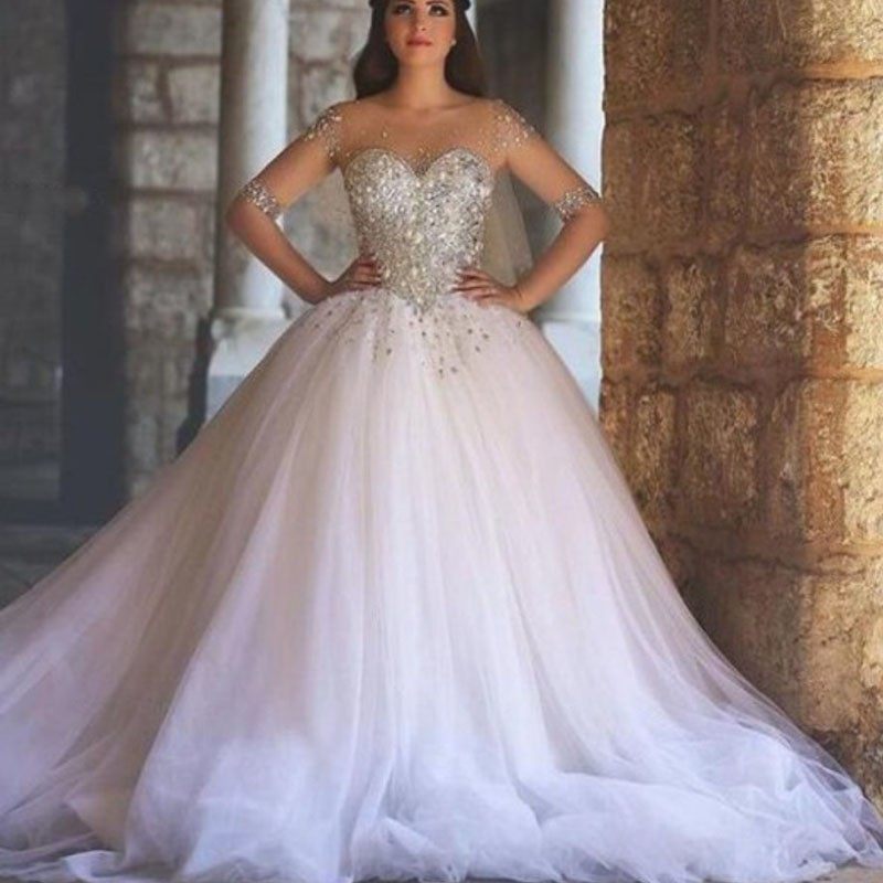 Wedding Gowns Prices In China : Wedding dresses ping buy low price sparkly