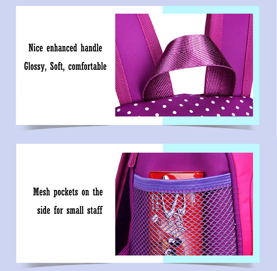 My little pony School bags for Toddler Kids Cute Children Mini Hello Kitty schoolbag Cartoon orthopedic Backpack for boys girls (10)