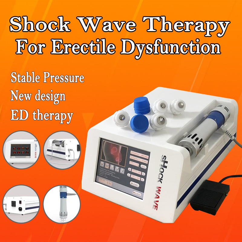 High Quality Unique Design Shock Wave  Therapy Machine Urology Shock Wave Therapy  ED Physiotherapy