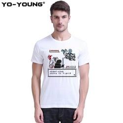3a24bc44b Yo-Young Men T-Shirts Game Of Thrones Jon Snow House Stark Print 100
