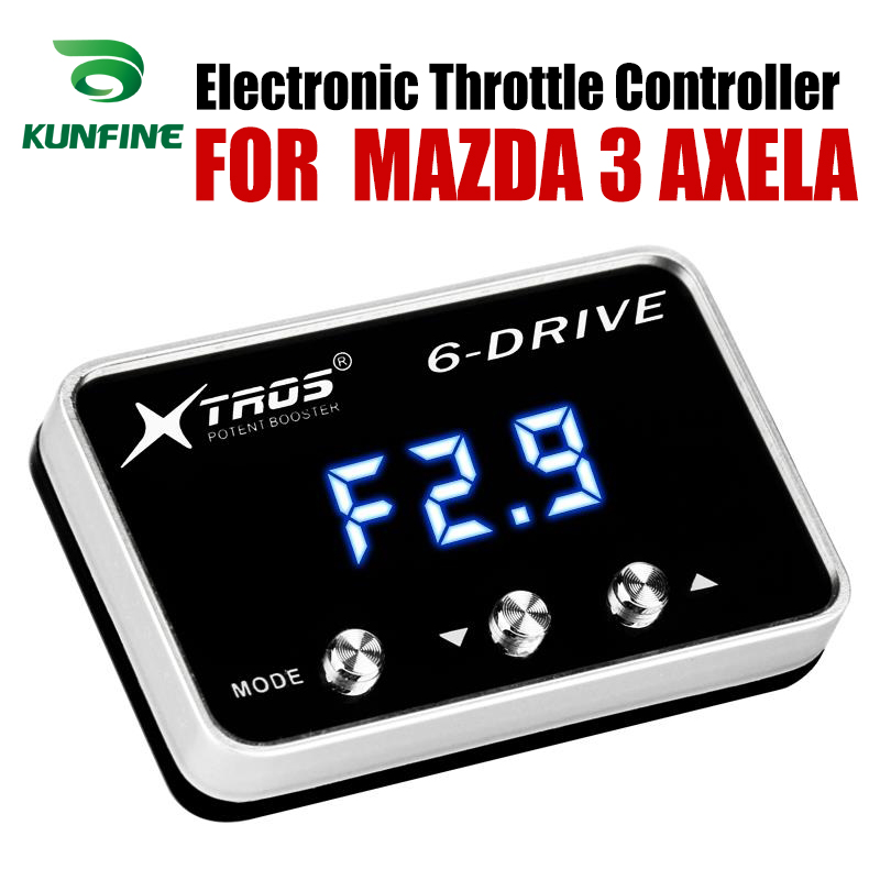Car Electronic Throttle Controller Racing Accelerator Potent Booster For  MAZDA 3 AXELA Tuning Parts AccessoryCar Electronic Throttle Controller Racing Accelerator Potent Booster For  MAZDA 3 AXELA Tuning Parts Accessory