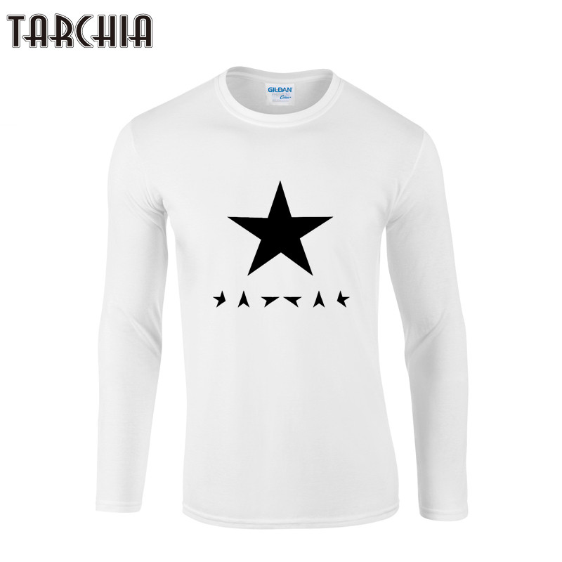 TARCHIA Mens T Shirt Slim Fit Crew Neck T-Shirt Men Geometric Printed Long Sleeve Shirt Casual Tshirt Tee Tops 2021 Tees Shirt