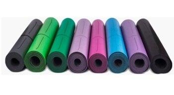 Estera De Yoga Antideslizante Para Fitness Esterilla Para Deportes Y Yoga De Goma Natural Multifunción También Para Gimnasio Pilates 1830*680*5mm