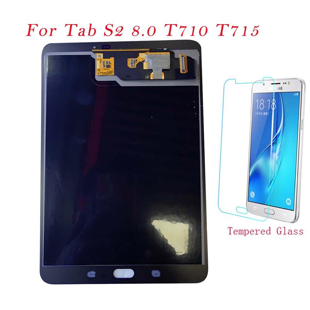 Test tablette LCD pour Samsung Galaxy Tab S2 8.0 T710 T715 SM-T710 écran tactile écran tactile numériseur assemblée T710 LCD Original