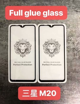 Full Glue Tempered Glass Screen Protector For Samsung Galaxy M20 M10 A8s On6 J8 J6 J4 Plus J2 Core Full Cover Anti-scratch Film