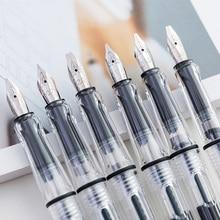 6 adet kaligrafi Paralel Kalem Seti 0.7mm 1.1mm 1.5mm 1.9mm 2.5mm 2.9mm yazma Kalem için Gotik Mektup kaligrafi Kalemler Kırtasiye