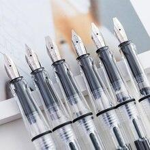 6 pièces Calligraphie Parallèle Stylo 0.7mm 1.1mm 1.5mm 1.9mm 2.5mm 2.9mm Stylo Plume pour Lettre Gothique Calligraphie Stylos Papeterie
