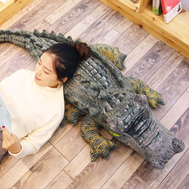 Crocodile Plush Pillow 1