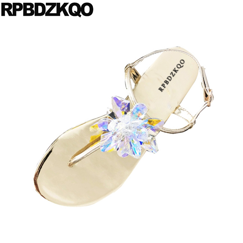 Imitación Tanga Diamantes Correa Las Cristal Mujeres Zapatos De La EH9D2IYW