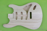 New electric guitar body Unfinished Paulownia Light weight High Quality #858
