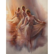 5D diy diamond painting Dancer full square embroidery mosaic cross stitch needleworks H758