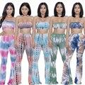 5 cores S-XL sexy impresso rompers womens duas peças bodycon jumpsuit 2017 verão plus size bodysuit desgaste do clube macacão XD850