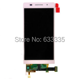 lcd display touch screen Assembly For HuaWei Ascend P6 P6-T00 P6-U00 P6-C00 P6-U06 Digitizer lens Free Shipping