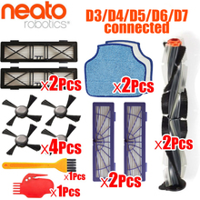 Generic combo Brush blade brush and bristle brush Beater for Neato Botvac D3 D4 D5 D6 D7 connected Vacuum Cleaners kit parts цены онлайн