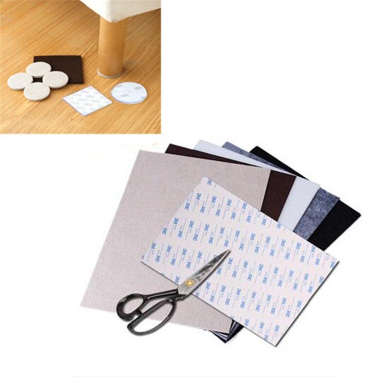 цена на Large thick furniture leg feet protector DIY cutting sofa chair Leg Table feet pad Anti-Slip mat Furniture Accessories