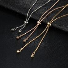 Rose Flower Charm Bracelet For Women Girl Bracelet & Bangle Adjustable Wedding Bridal Jewelry Gift