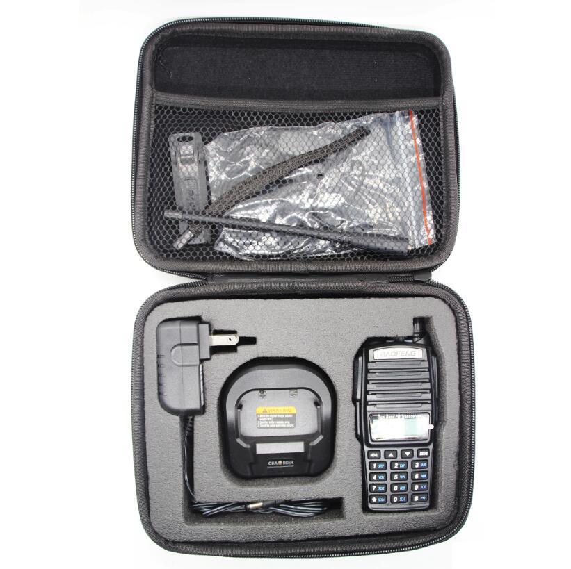 Nylon bag for UV 82 walkie <font><b>talkie</b></font> bag cover for uv 82 two way radio