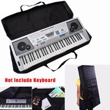 Electronic Organ Bags 61 Key Black Holder Storage Musical Instruments Convenient Practical