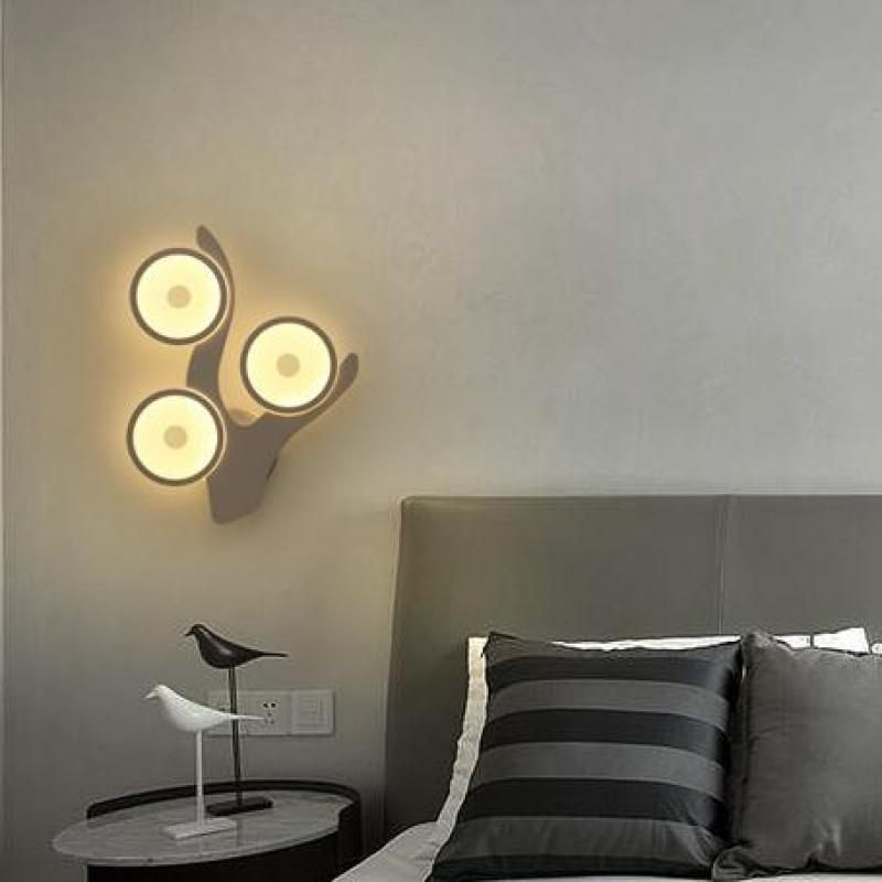 Creative Lamp Staircases Corridors Living Room Modern Minimalist Bedroom led Wall lamp Hotel Lobby Hall Project Wall Light