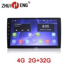 Zhuiheng 9 10.1 2 din Car radio for universal car dvd player autoradio GPS navigation 4G wifi 2G 32G car audio auto stereo 10 1 universal 1 din one din car audio dvd player radio gps navigation autoradio stereo bluetooth sd usb rds